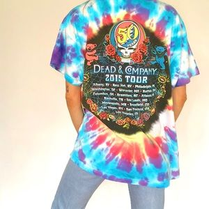 Vintage Tops - 🚫SOLD🚫 Greatful Dead Tie Dye Graphic Tee